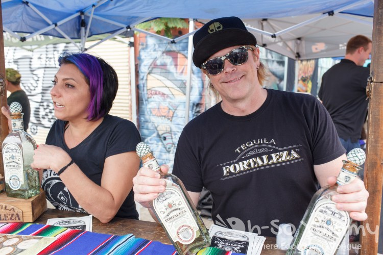 Fortaleza Tequila at Tacos and Tequila Festival
