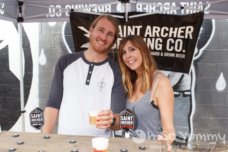 Saint Archer at Tacos and Tequila Festival