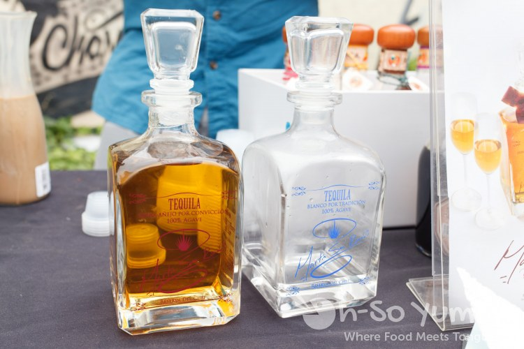Martin San Ramon tequila at Tacos and Tequila Festival