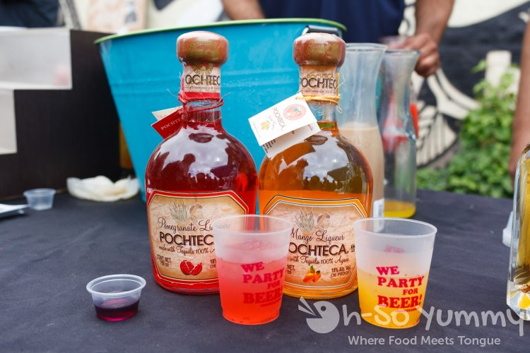 Pochteca Liqueur at Tacos and Tequila Festival
