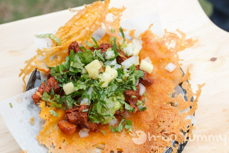 Queso Taco from Famoso Mexican Street Food