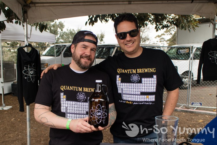 Quantum Brewing during Tacotopia in Golden Hill Park San Diego