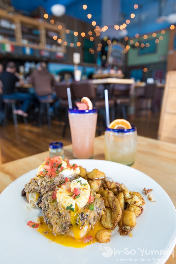 brunch at Tamarindo Latin Kitchen and Bar in San Diego
