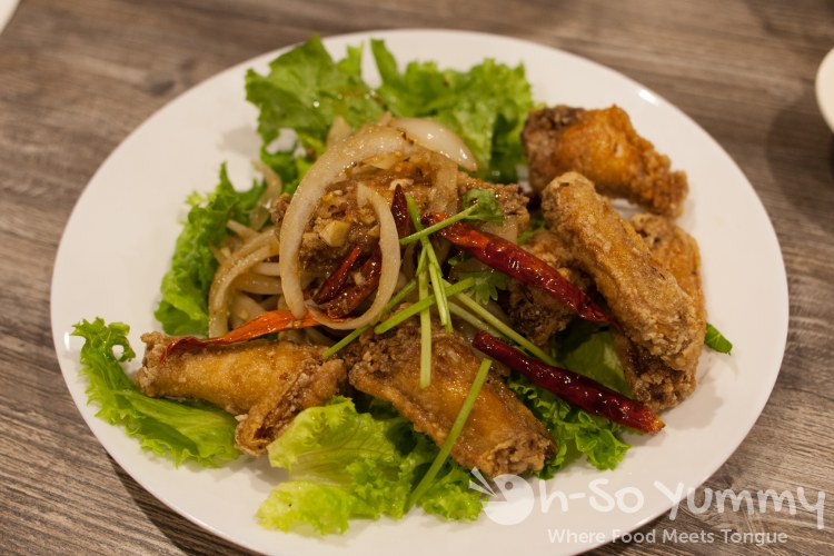 Fish Sauce Wings at Tim Ky Noodle in San Diego