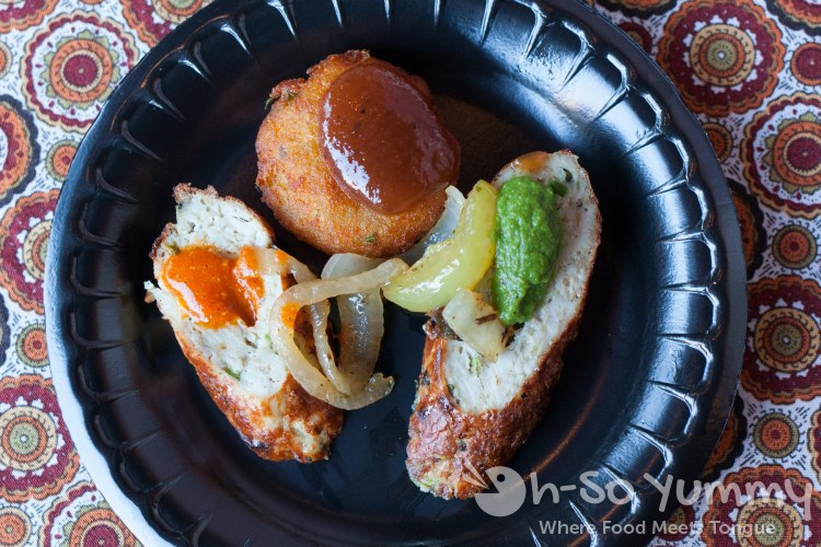 Gourmet India at Taste of Downtown 2016
