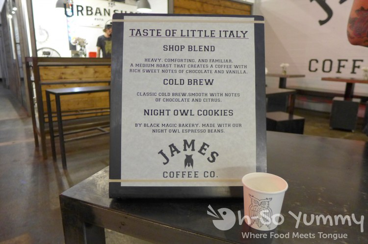 James Coffee Co at Taste of Little Italy 2015