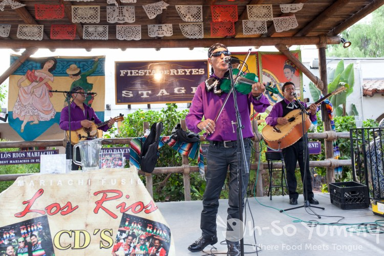 live music by Los Rios at Taste of Old Town 2015