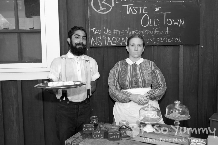 Rust General Store servers at Taste of Old Town 2015