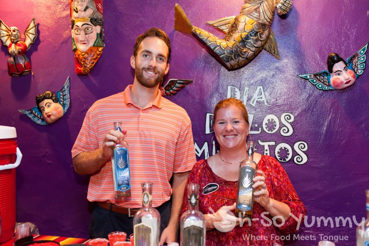 Azunia Tequila at Taste of Old Town 2015