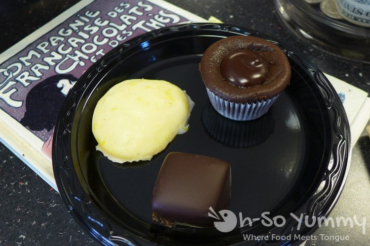The Elegant Truffle sample at Taste of Point Loma