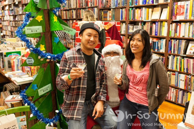 Oh-So Yummy with santa during Taste N Tinis