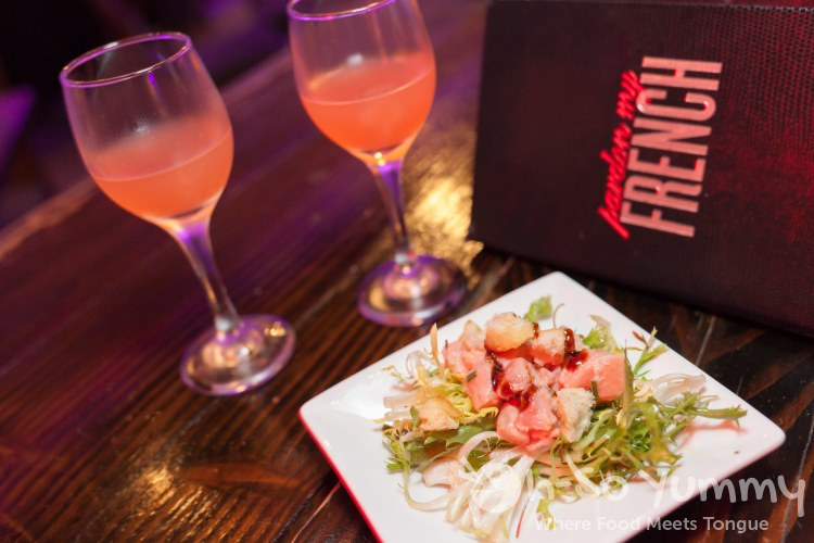 food and drink at Pardon My French during Taste N Tinis