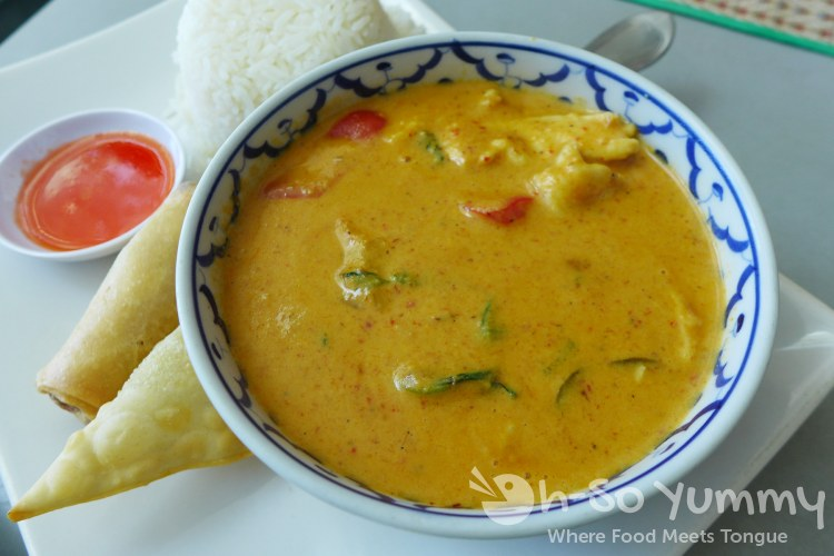Thai Time III - panang curry chicken