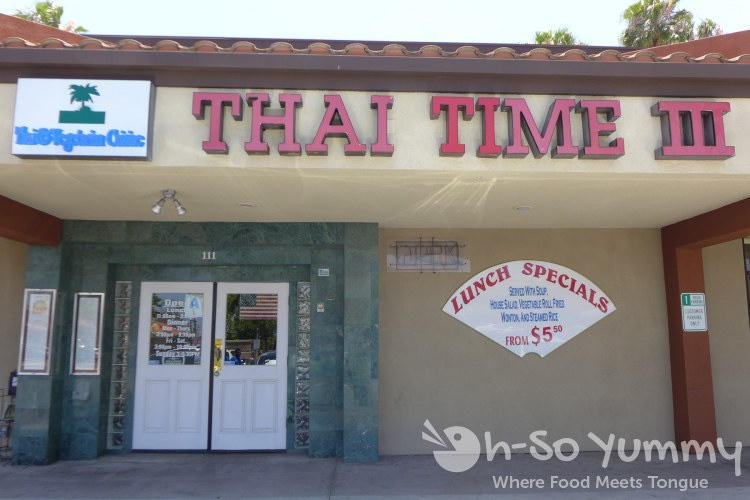 Thai Time III in San Diego
