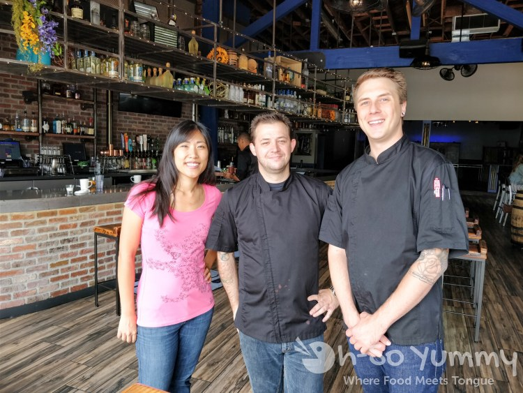 Chef Chad Brunette and Chef John Hamaker at The Rail in Hillcrest San Diego