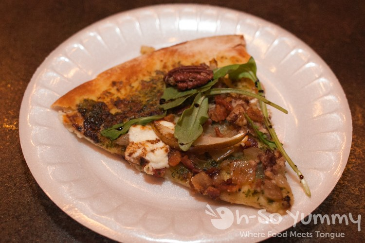 Hillcrest Taste N Tinis 2014 - pizza at Heat Bar and Kitchen