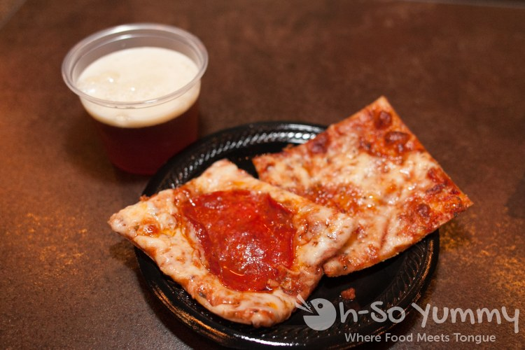 Hillcrest Taste N Tinis 2014 - pizza and beer at Hillcrest Brewing Co