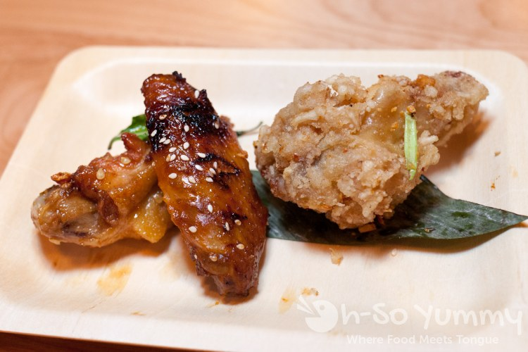 Wings (huli huli, viet, and salt n pepper) at Trade Winds Tavern gastropub in Convoy