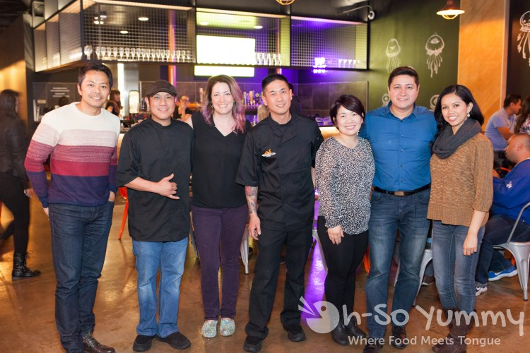Owners chefs and friends at Trade Winds Tavern gastropub in Convoy