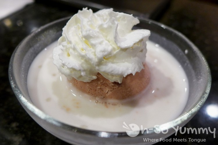 Tsuruhashi Japanese BBQ - coconut milk ice cream