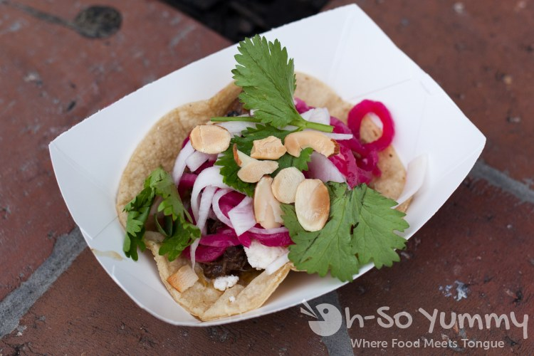 slow braised lamb taco at urban solace during tuesday taste of north park 2015
