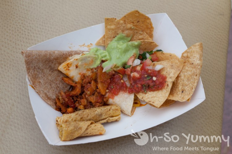 sampler from ranchos cocina during tuesday taste of north park 2015