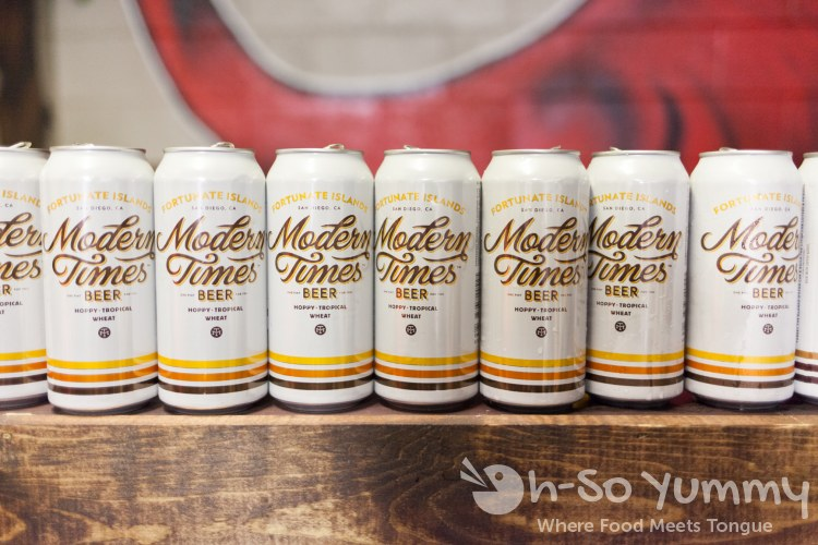 modern times beer hoppy tropical wheat during tuesday taste of north park 2015