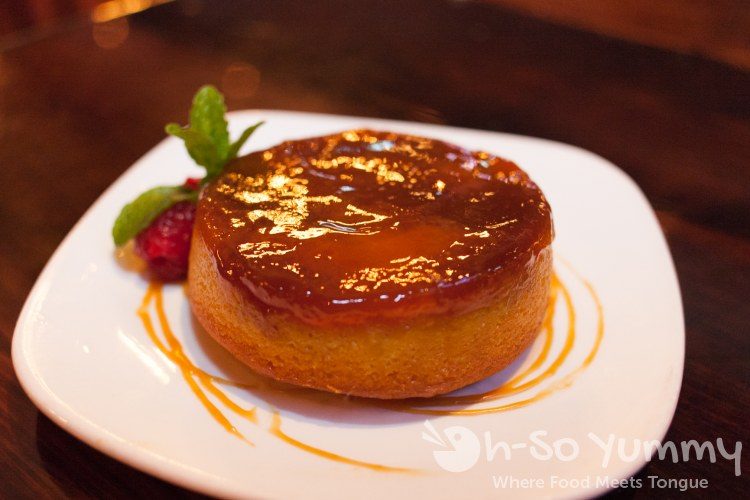 Apple Upside-Down Cake at Union Kitchen and Tap in San Diego