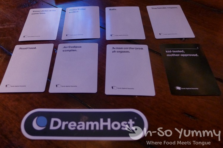 cards against humanity at Union Kitchen and Tap in San Diego