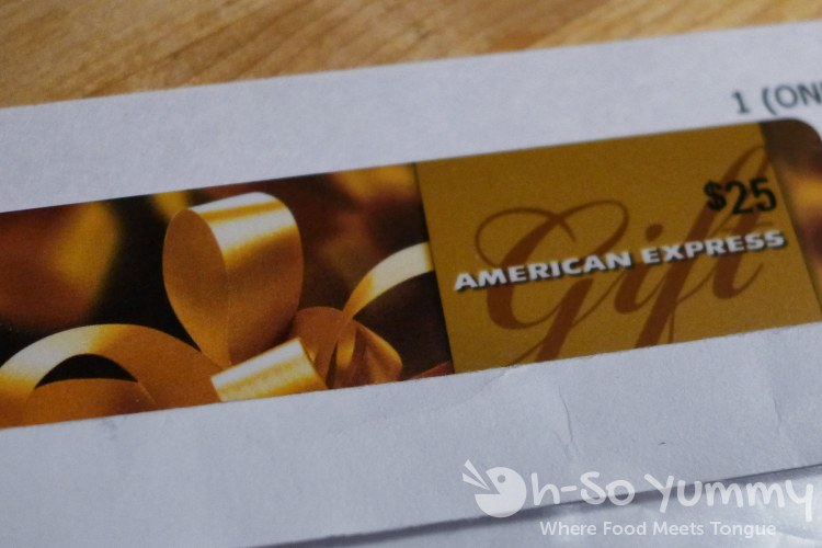 american express giftcard at Union Kitchen and Tap in San Diego