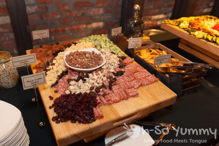 meat cheese and nut platter at Union Kitchen and Tap in San Diego
