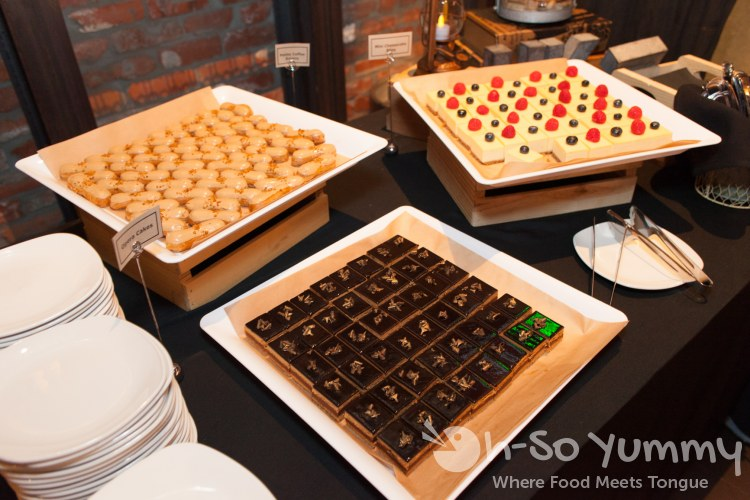 dessert trays at Union Kitchen and Tap in San Diego