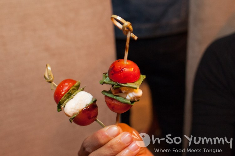 caprese at Union Kitchen and Tap in San Diego