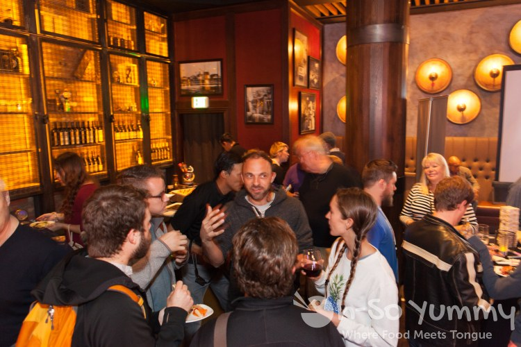 dreamhost guests at Union Kitchen and Tap in San Diego
