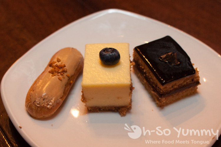desserts at Union Kitchen and Tap in San Diego