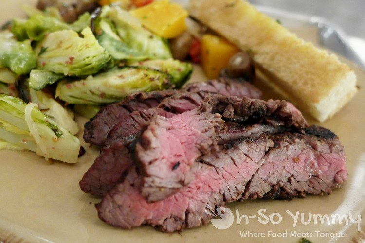Urban Plates - Grilled Steak Plate with Brussels and Butternut