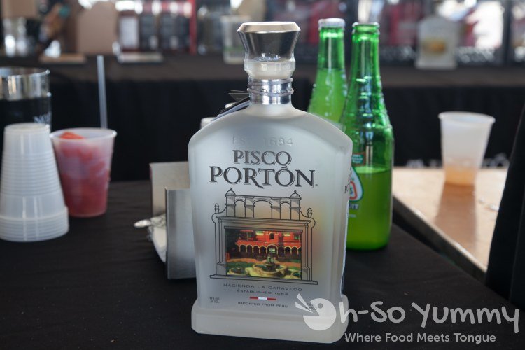 Latin Food Festival 2014 - Pisco Porton