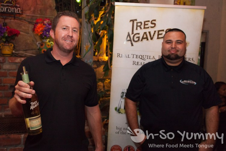Taste of Old Town 2014 - Tres Agaves Tequila ambassadors