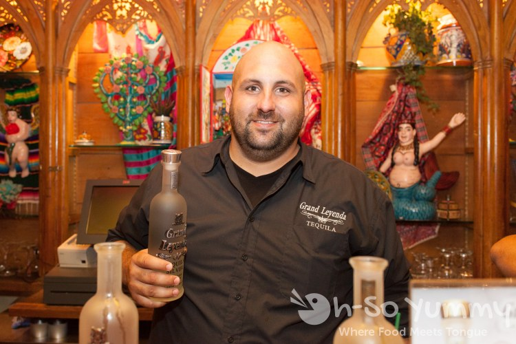 Taste of Old Town 2014 - Grand Leyenda Tequila ambassador
