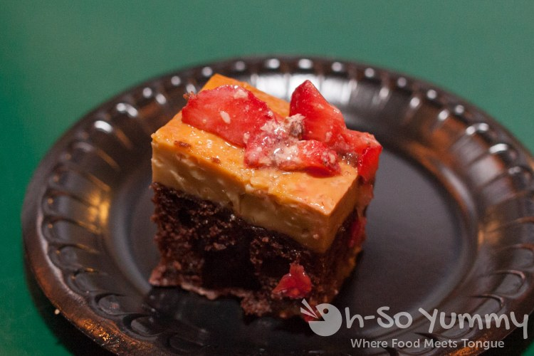 Taste of Old Town 2014 - chocoflan at Old Town Mexican Cafe