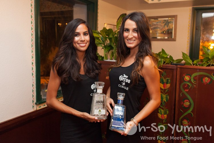 Taste of Old Town 2014 - 1800 Tequila ambassadors