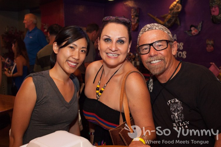 Taste of Old Town 2014 - Lynn with Dunia and Mike