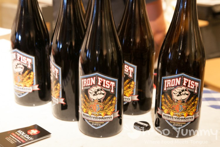 The Wedge Escondido 2014 - rubus vigoratus anniversary beer from Iron Fist Brewing Company