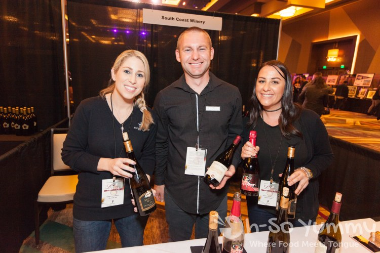 South Coast Winery at the 10th annual wine festival at pechanga