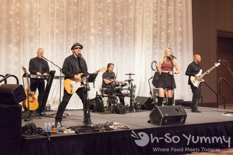 Live music at the 10th annual wine festival at pechanga