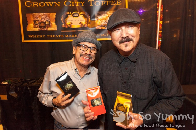 crown city toffee vendor at 10th annual wine festival at pechanga