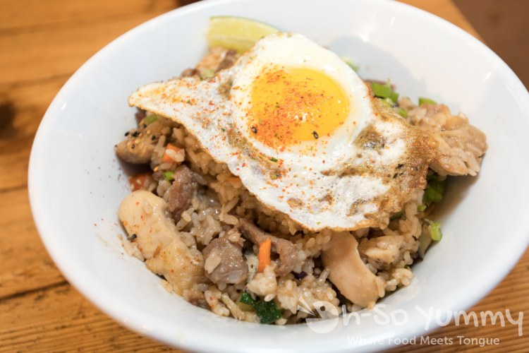 Wokou fried rice at Wokou Ramen and Yakitori in The Village Pacific Highlands Ranch