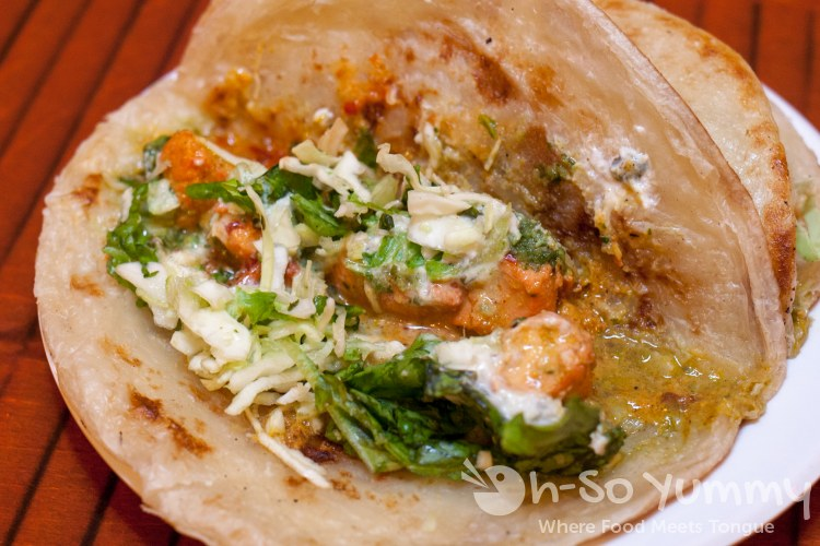 tikka tacos at World Curry in Pacific Beach