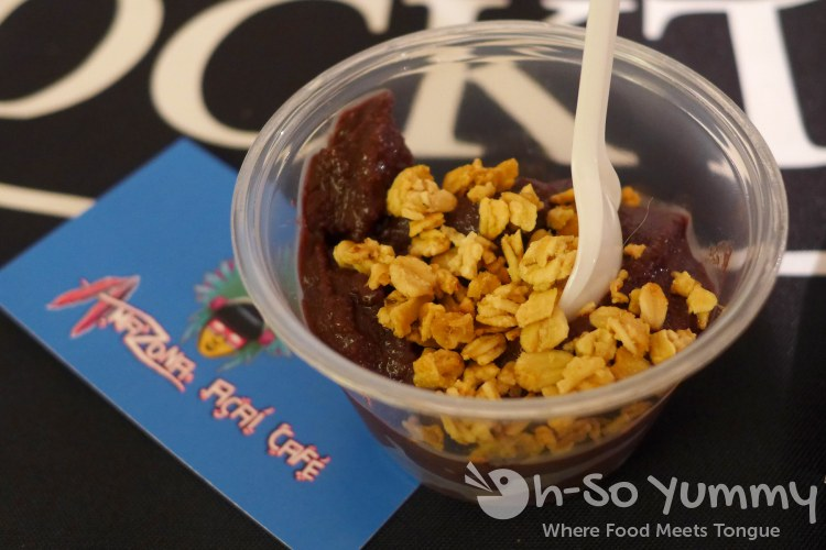 Amazona Acai Cafe sample