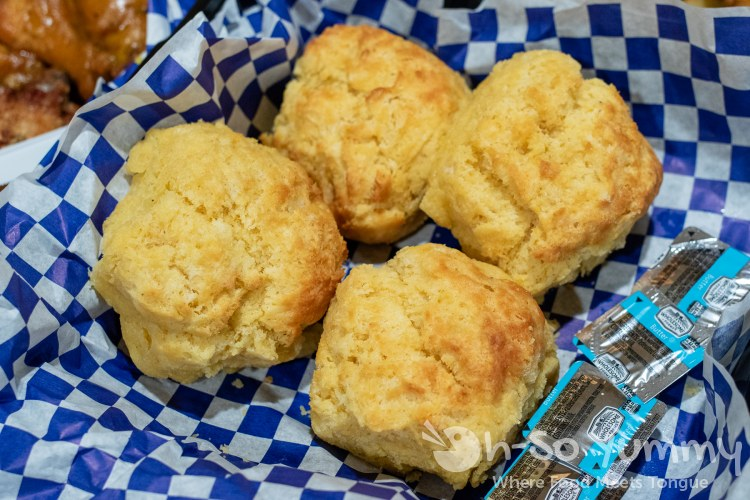 Corn Biscuits from Boss Bird Kitchen
